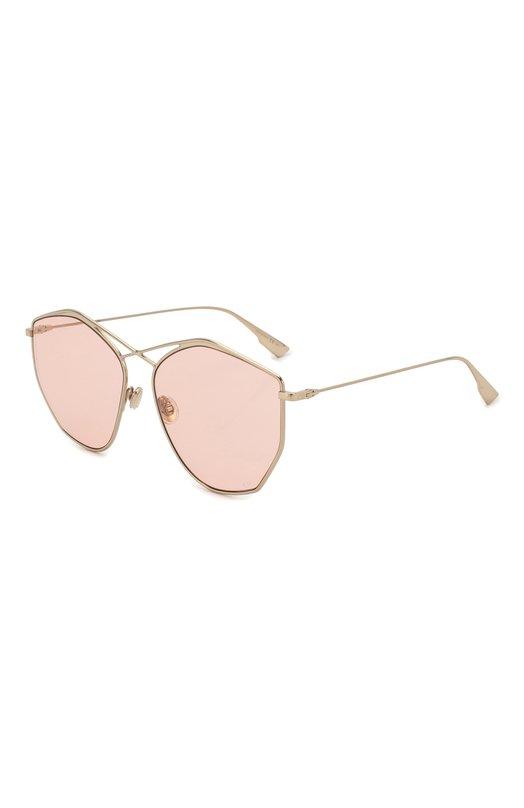 Купить Солнцезащитные очки Dior, DI0RSTELLAIRE4 J5G W7, Италия, Светло-розовый, Оправа-металл;