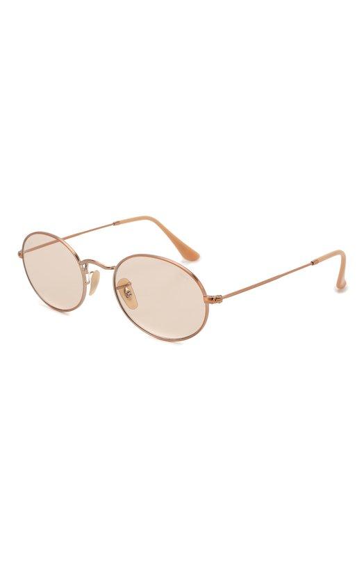Купить Солнцезащитные очки Ray-Ban, 3547N-9131S0, Италия, Золотой, Оправа-металл; Линзы-стекло;