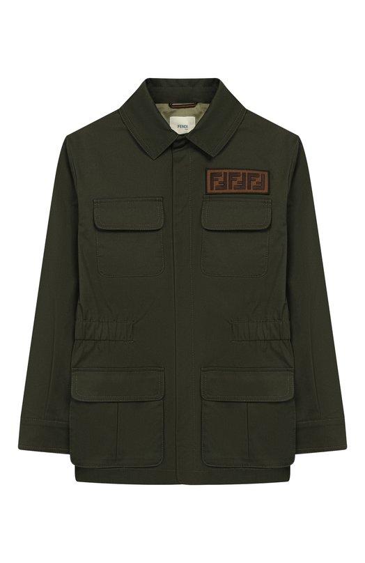 Хлопковая куртка Fendi