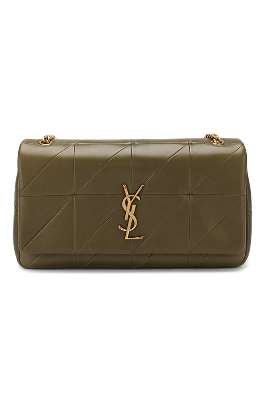 Купить Сумка Jamie medium Saint Laurent, 515821/C0P67, Италия, Хаки, Кожа натуральная: 100%;