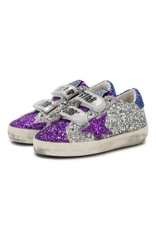 Текстильные кеды Superstar Golden Goose Deluxe Brand