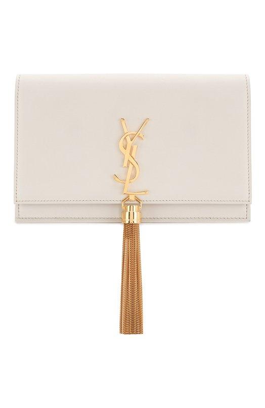 Купить Сумка Monogram Kate small Saint Laurent, 452159/C150J, Италия, Белый, Кожа натуральная: 100%;