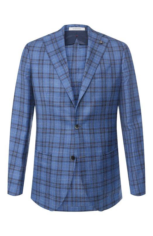 Пиджак из смеси шерсти и шелка Sartoria Latorre