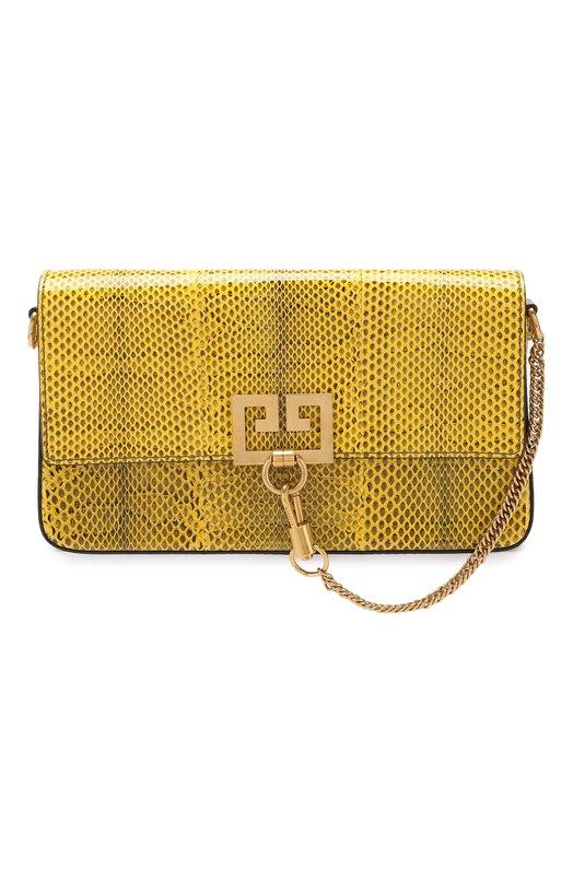 Купить Сумка Charm Givenchy, BB508RB0J0, Италия, Желтый, Кожа натуральная: 100%;