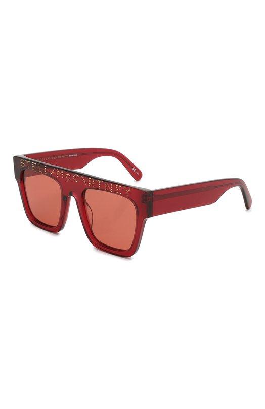 Купить Солнцезащитные очки Stella McCartney, SC0170S, Китай, Красный, Ацетат;