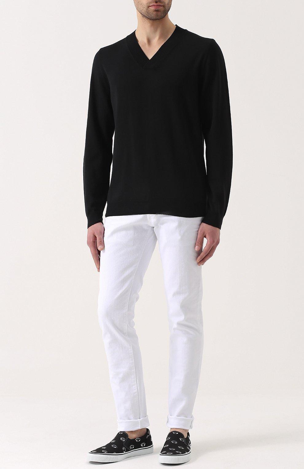 Пуловер с шалевым воротником с доставкой