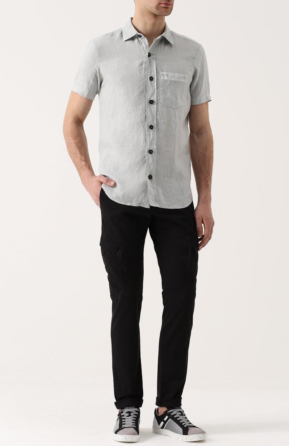Комбинированные брюки с доставкой