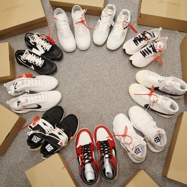 facc0574320a ... Nike х Off-White. Не упустите последний шанс приобрести кроссовки из  самой громкой коллекции года — The Ten! Обратите внимание, что заявки  принимаются ...