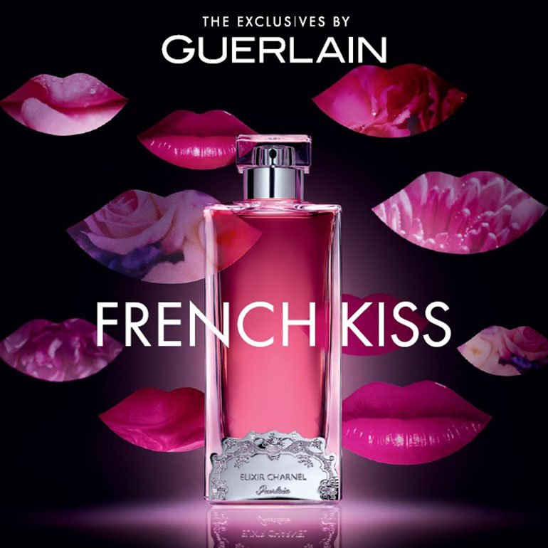 Презентация аромата Guerlain French Kiss