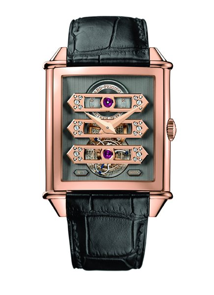 Часы Girard-Perregaux Vintage 1945 Tourbillon with Three Gold Bridges